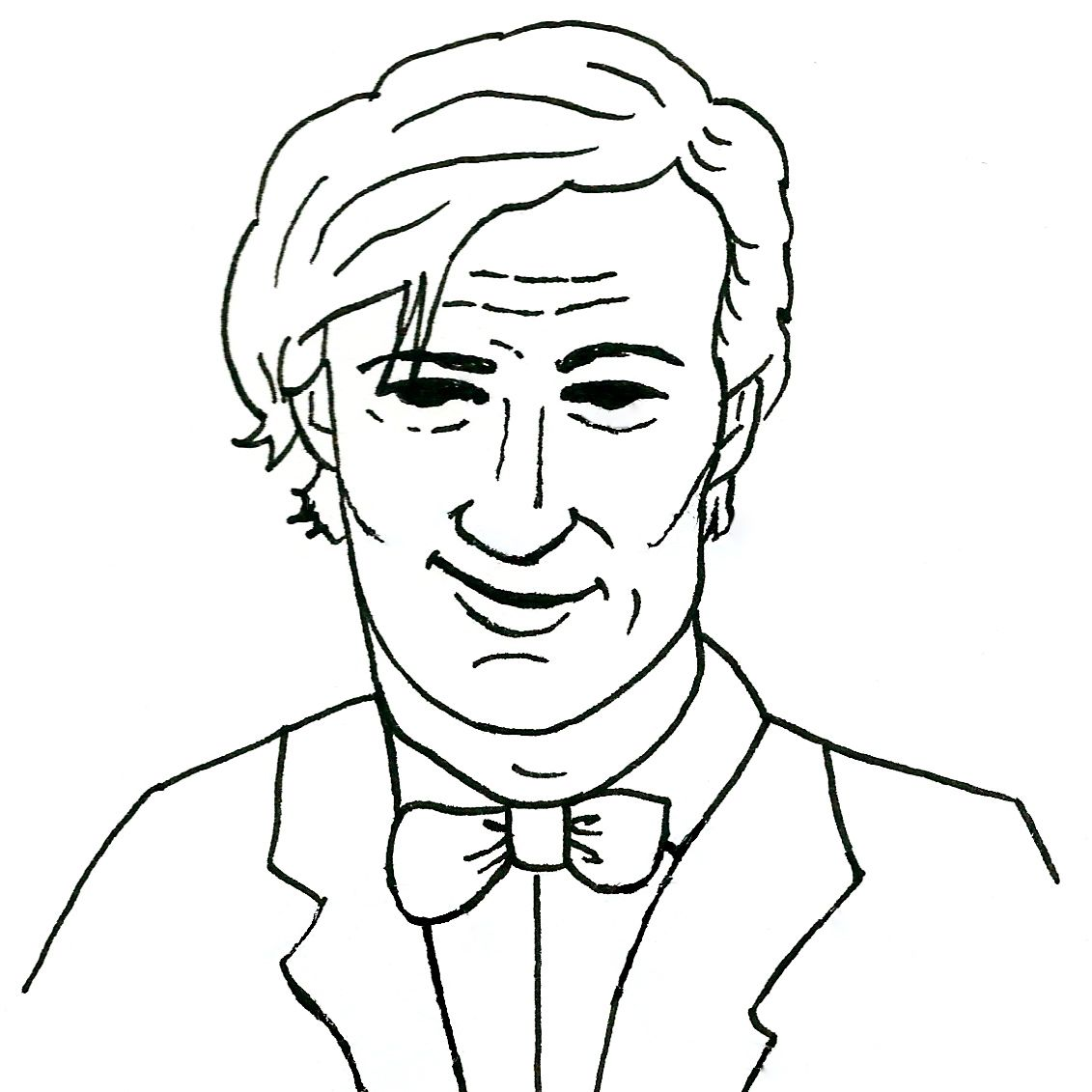 Line Drawing Of A Doctor : My two favourite doctors how the light gets in